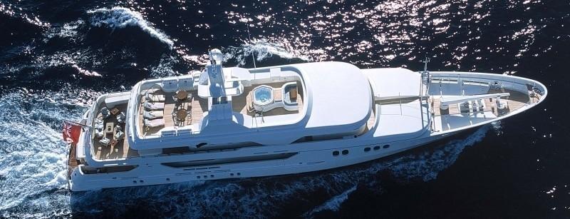 Above Aboard Yacht MALIBU