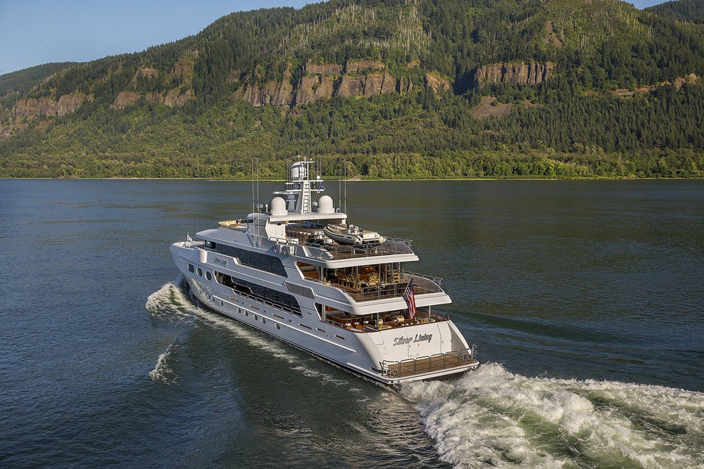 The 50m Yacht SILVER LINING