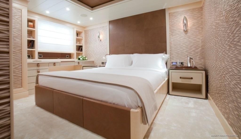 Guest's Cabin Aboard Yacht SPIRIT