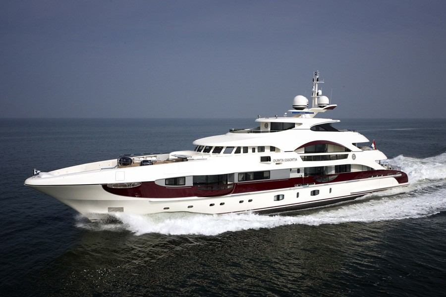 Premier Overview On Yacht QUITE ESSENTIAL