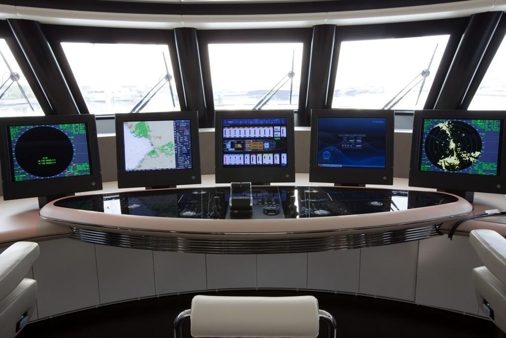 Bridgedeck Aboard Yacht QUITE ESSENTIAL