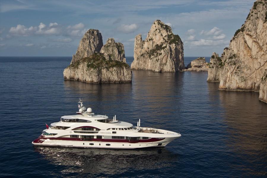 Landscape Aboard Yacht QUITE ESSENTIAL