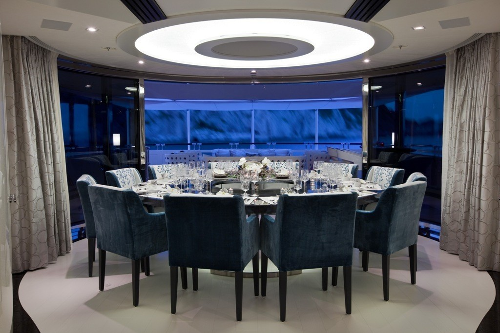 Eating/dining Saloon On Yacht QUITE ESSENTIAL