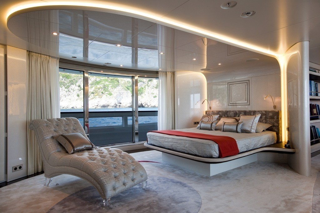 Main Master Cabin On Board Yacht QUITE ESSENTIAL