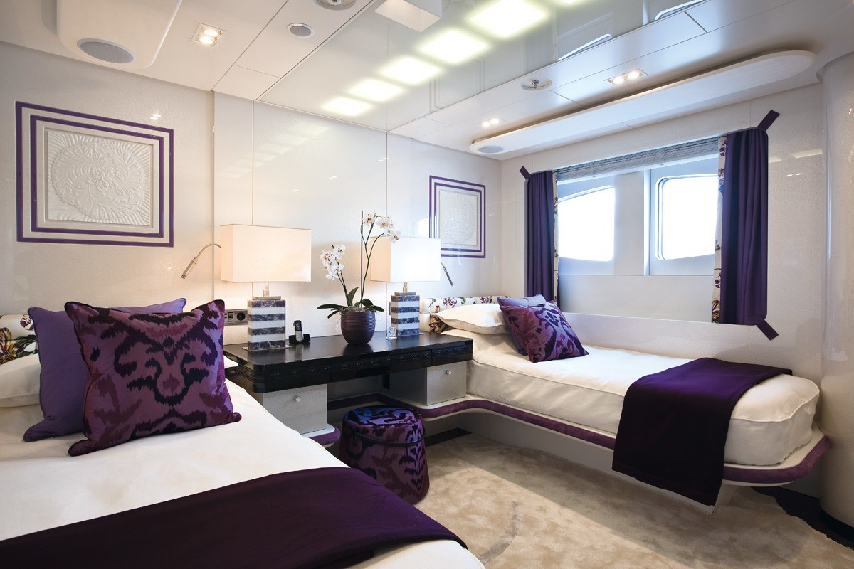 Twin Bed Cabin On Board Yacht QUITE ESSENTIAL