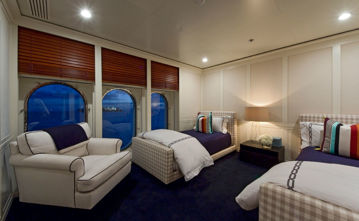 Twin Bed Cabin On Yacht DIAMOND A