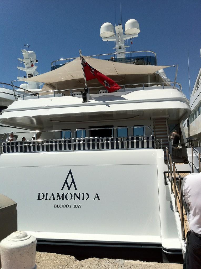 Aft On Board Yacht DIAMOND A