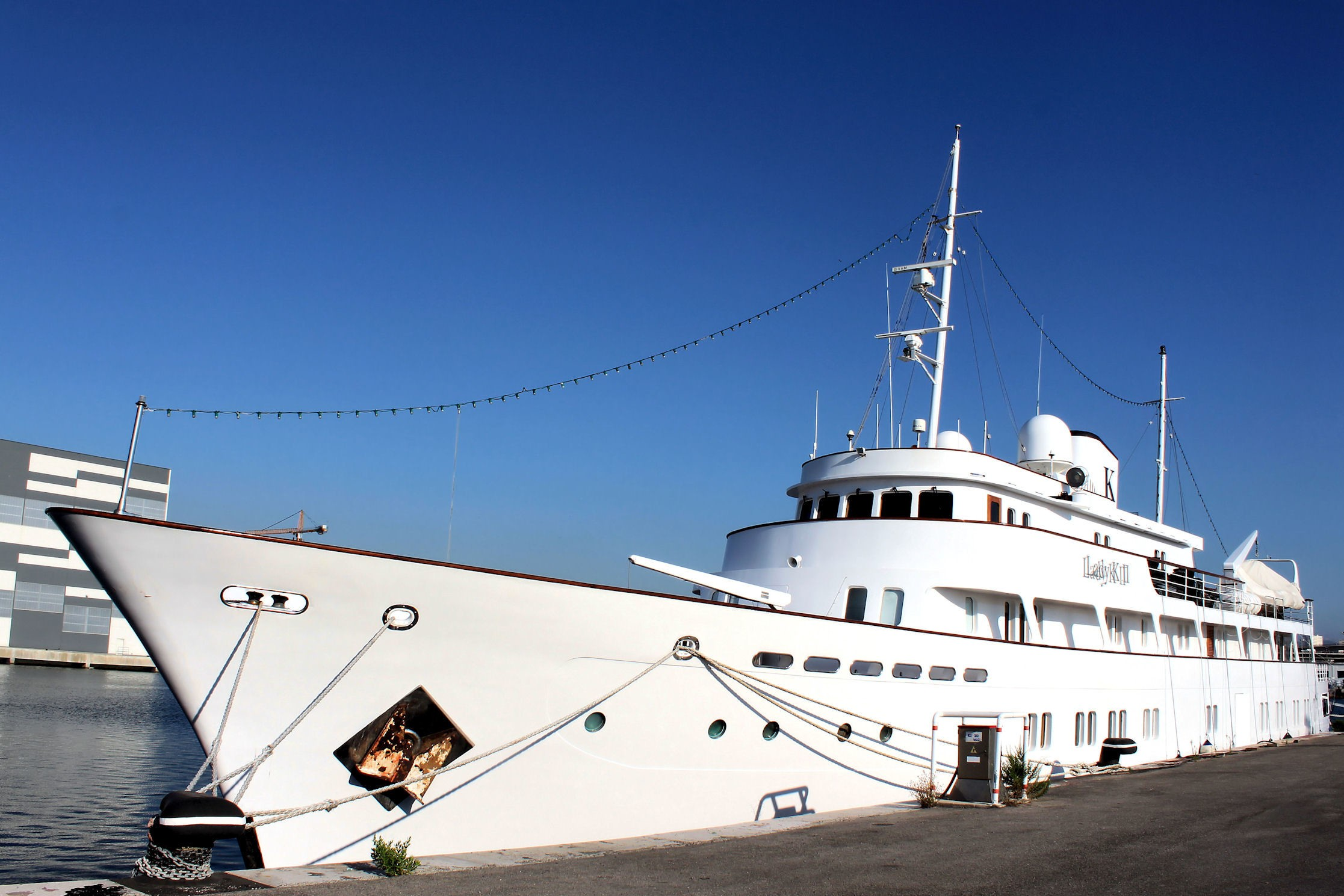 The 57m Yacht LADY K II