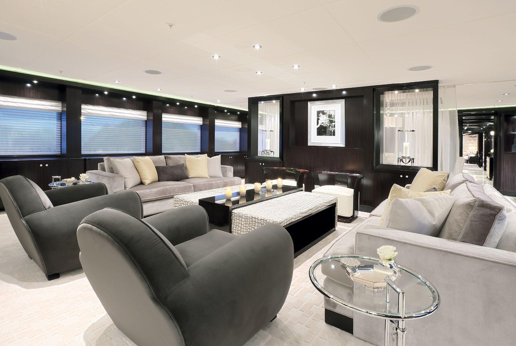 Fore: Yacht CARPE DIEM's Premier Saloon Image