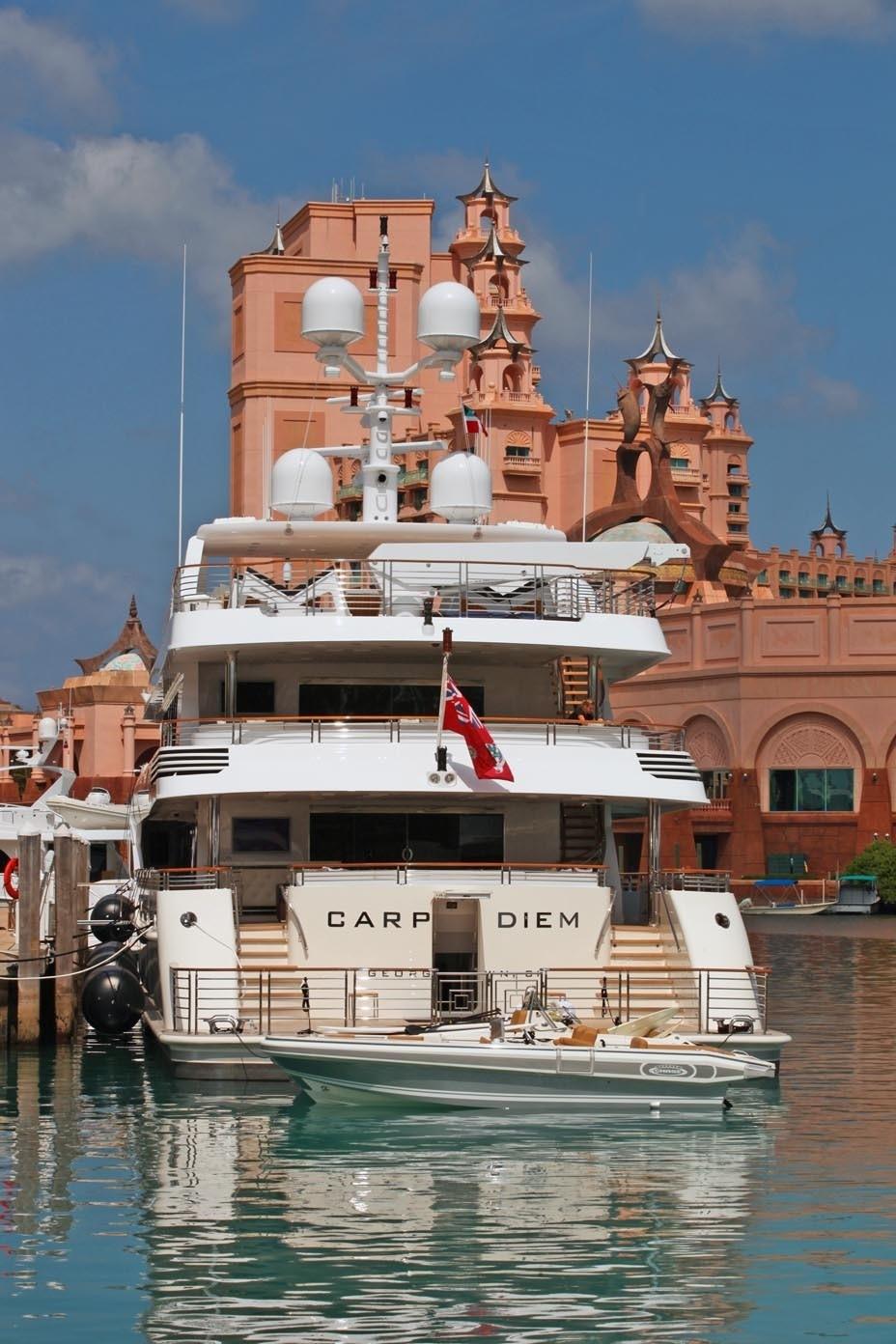 Aft On Board Yacht CARPE DIEM