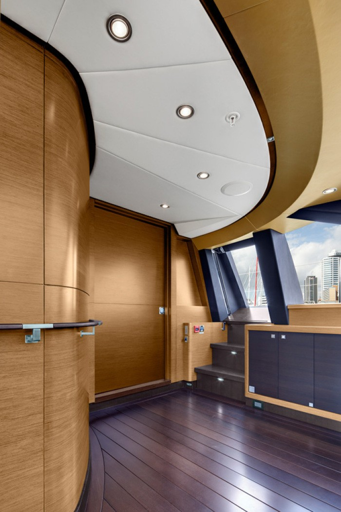 Inside Close Up Aboard Yacht KOKOMO