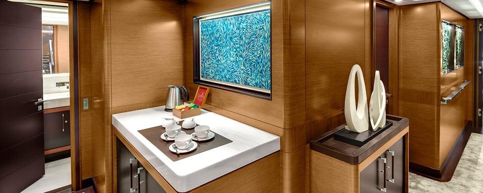 Personal Hall Aboard Yacht KOKOMO