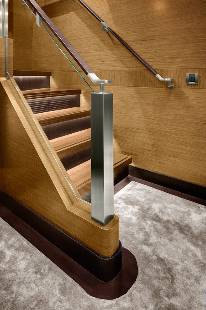 Close Up: Yacht KOKOMO's Stairway Photograph