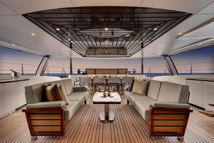 Cockpit On Yacht KOKOMO