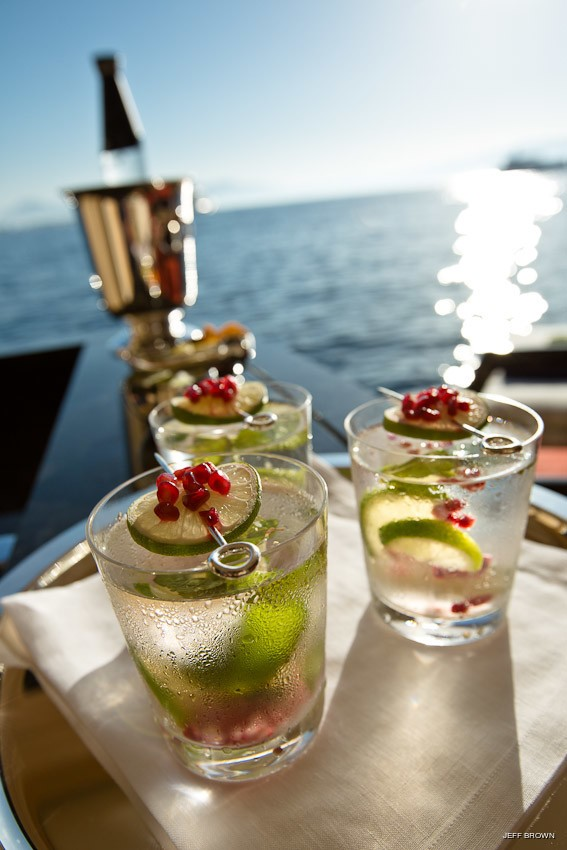 Beverages On Yacht EXCELLENCE V