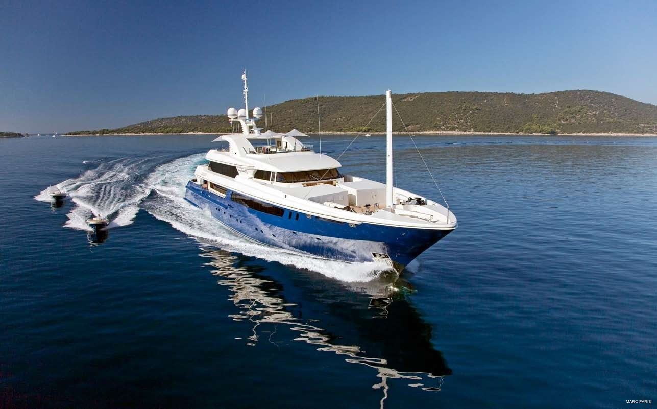 Cruising Including Ship's Tenders On Yacht MARY-JEAN II