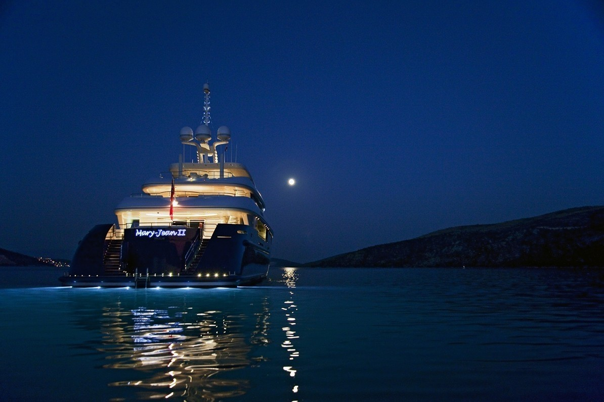 The 60m Yacht MARY-JEAN II