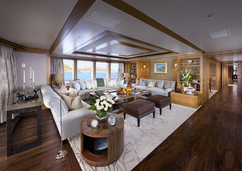 Premier Saloon On Yacht LADY BRITT