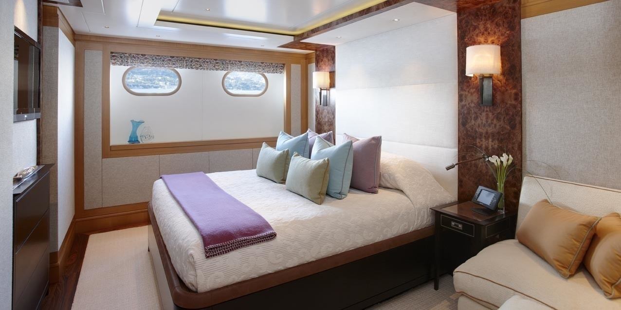 Guest's Double Sized Suite On Board Yacht LADY BRITT