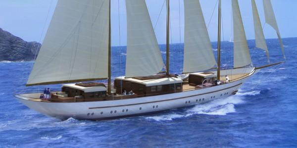 The 64m Yacht MIKHAIL S. VORONTSOV