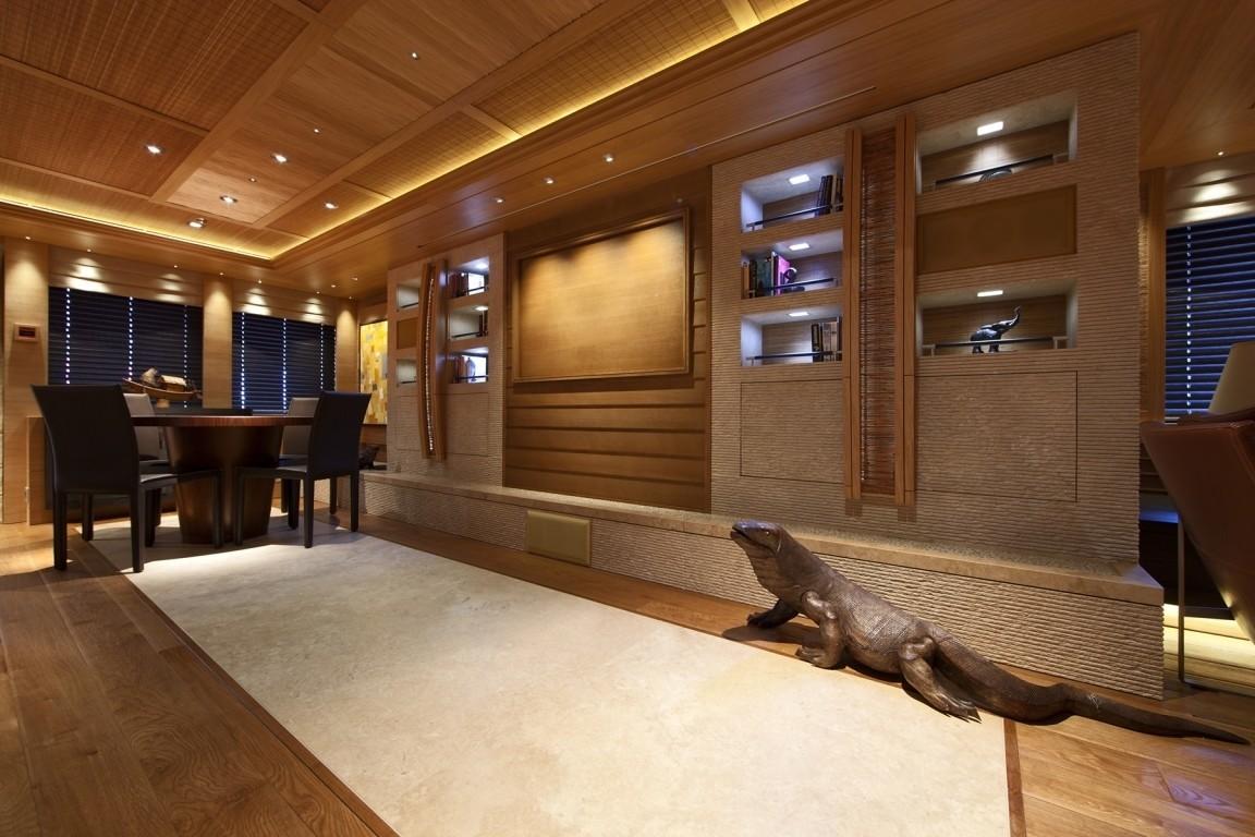 Saloon On Yacht NAIA