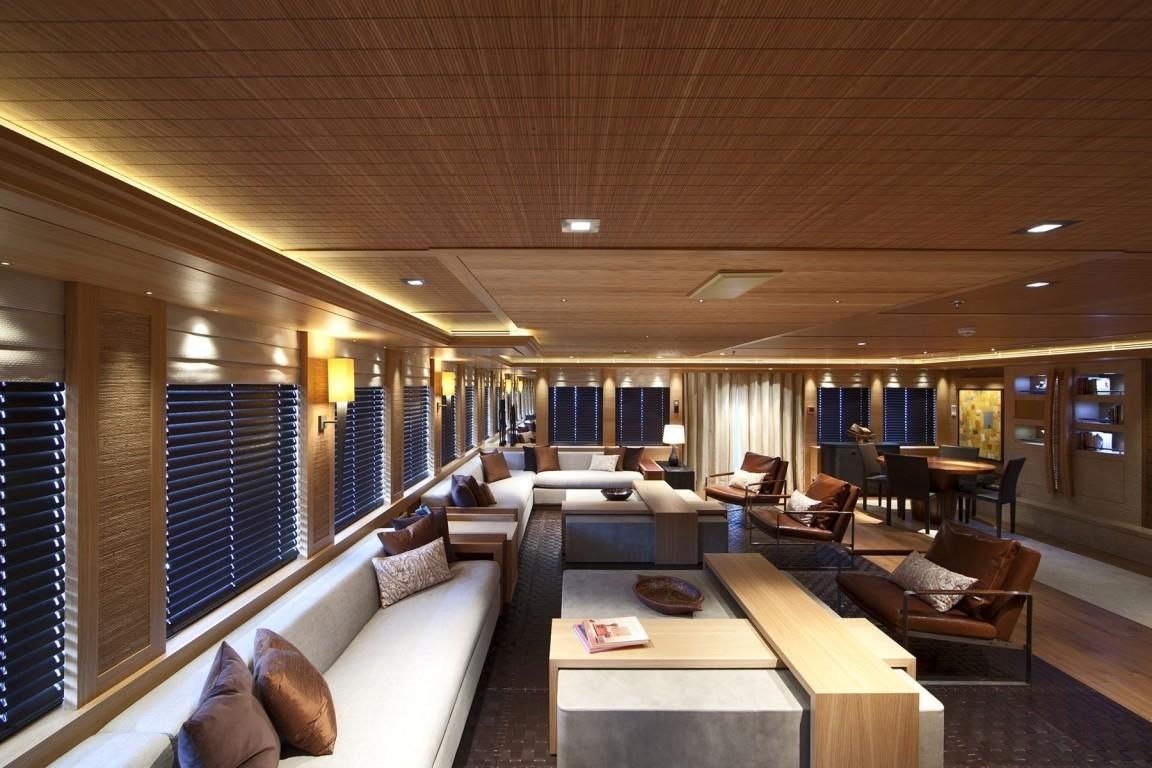 Premier Saloon On Board Yacht NAIA