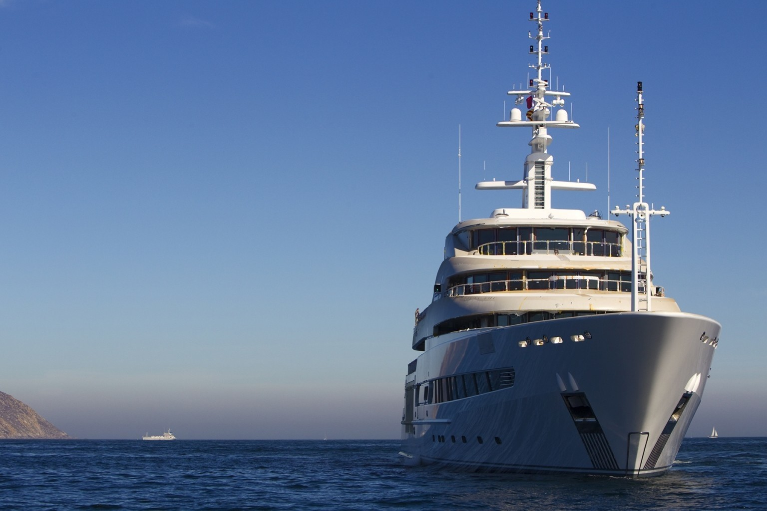Forward Aspect On Board Yacht NAIA