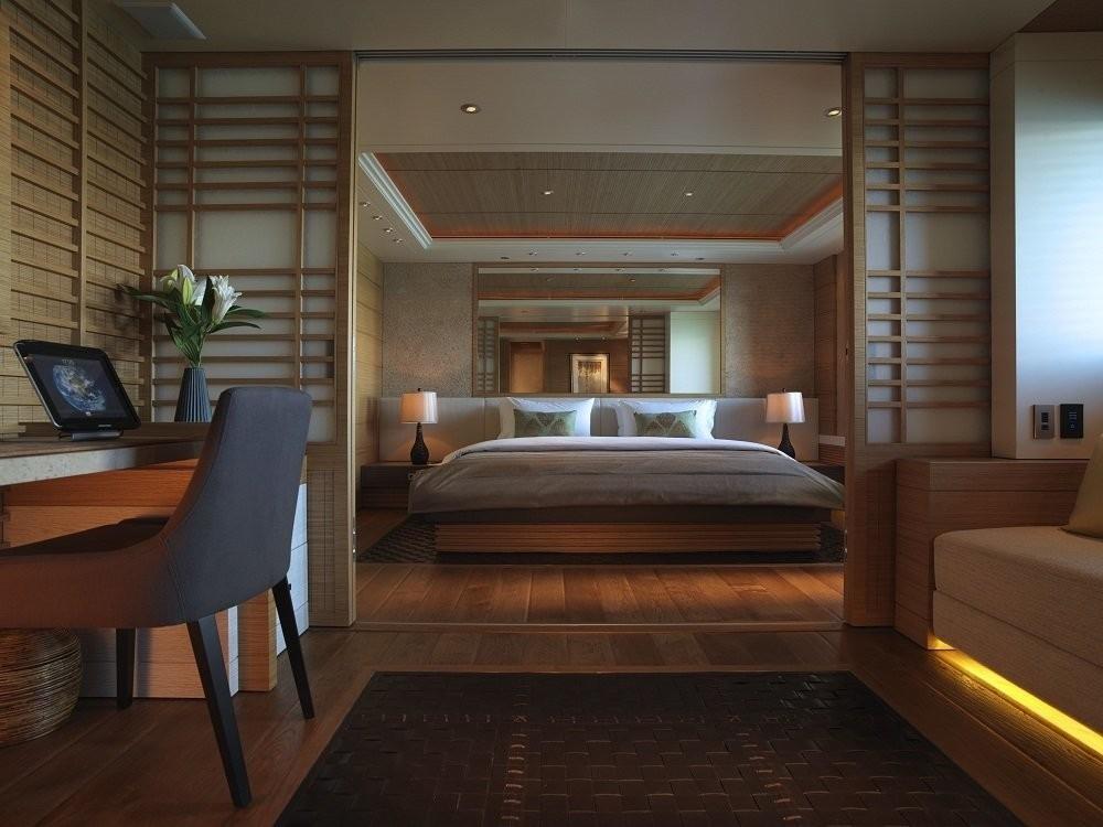 VIP Cabin On Board Yacht NAIA
