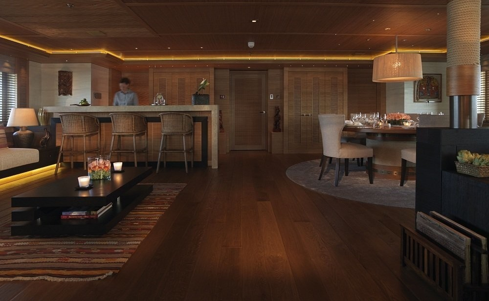 Drinks Bar: Yacht NAIA's Premier Saloon Pictured