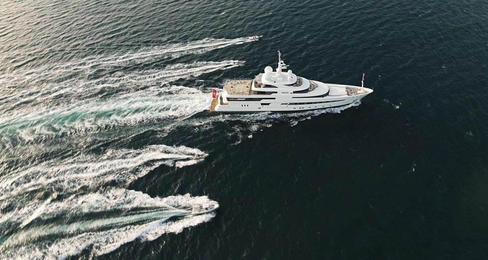 Cruising Including Ship's Tenders Aboard Yacht NAIA
