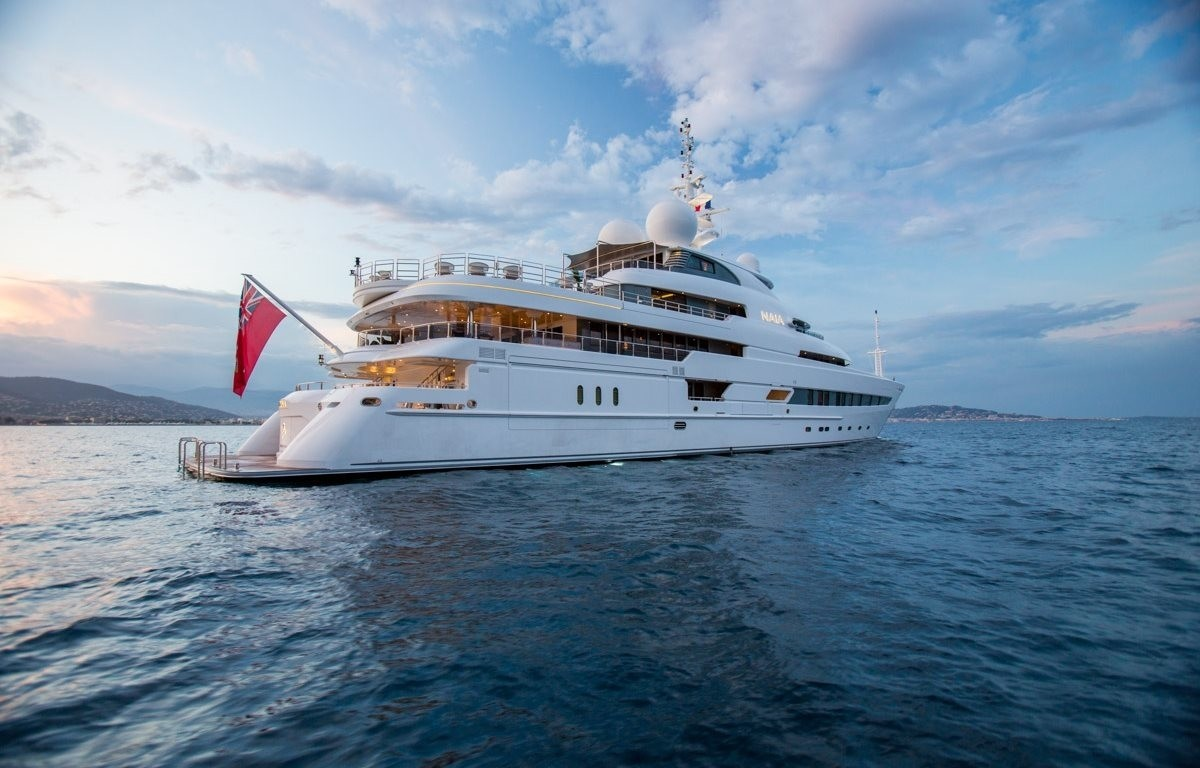 The 73m Yacht NAIA