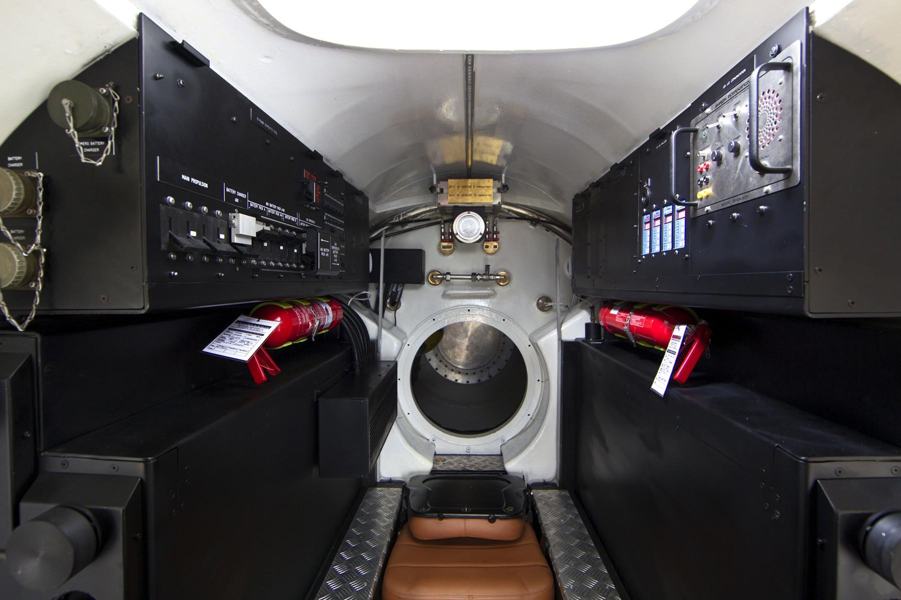 Submersible Instrumentation On Yacht NAIA