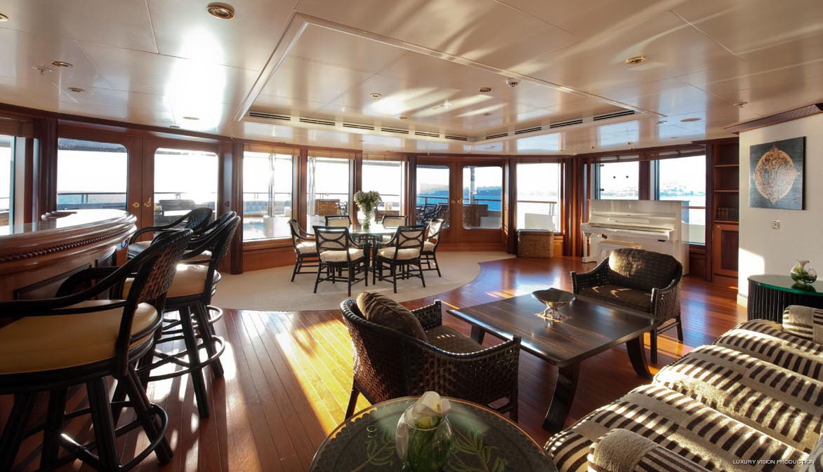 Saloon On Board Yacht BOADICEA
