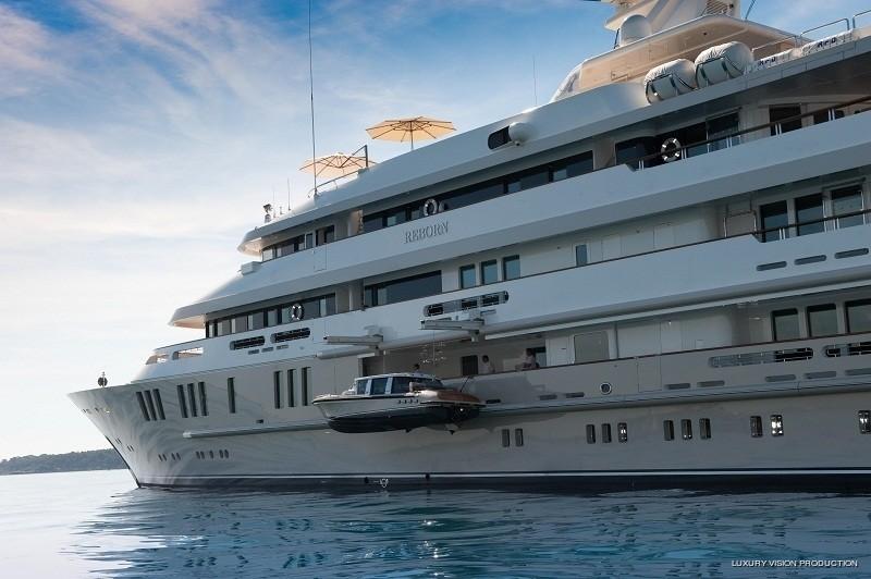 Ship's Tender: Yacht BOADICEA's Sideview Photograph