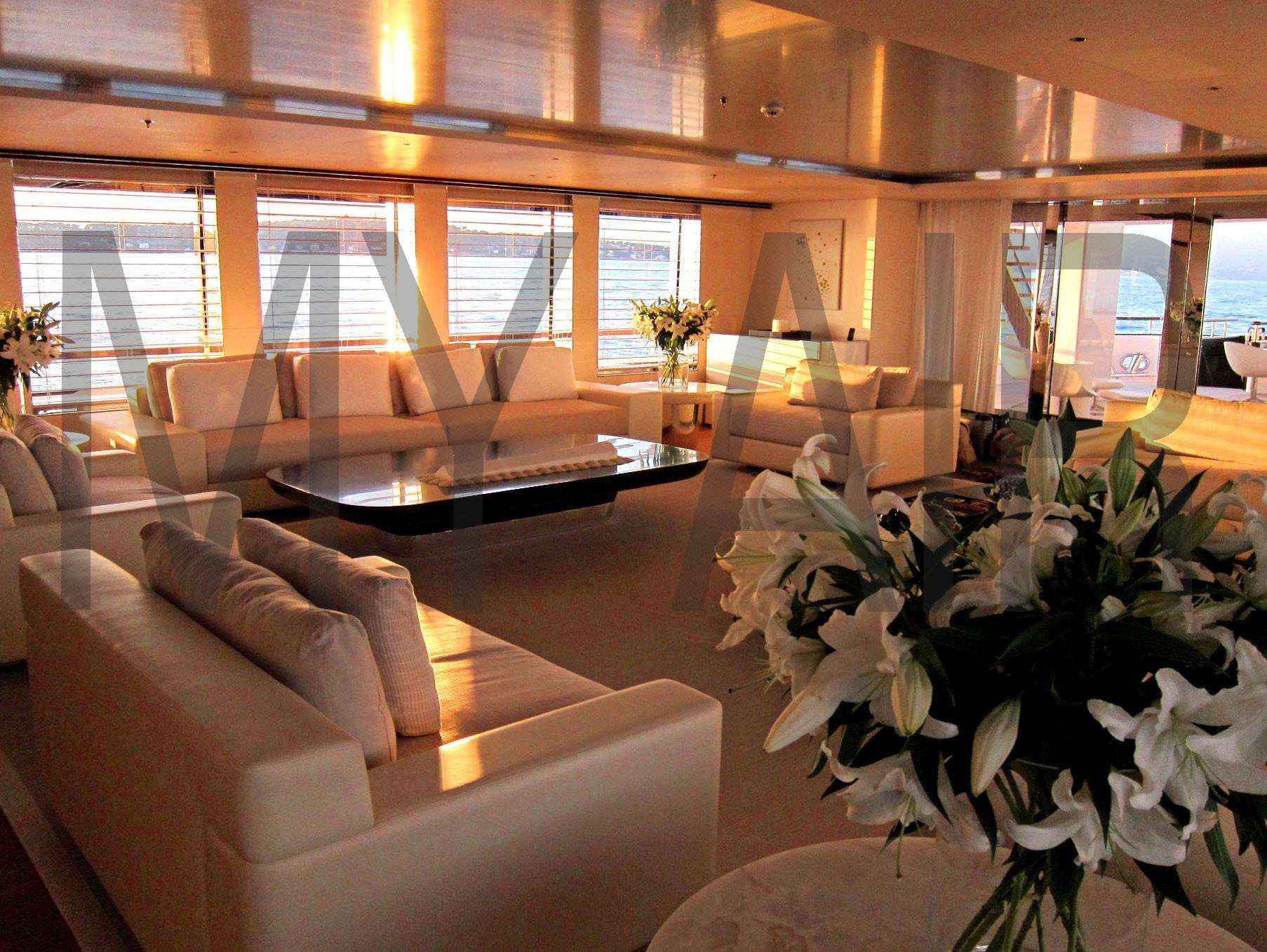 Saloon On Board Yacht AIR