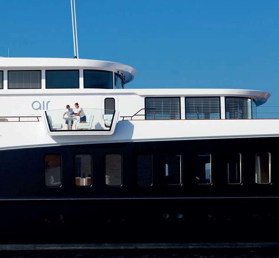 The 81m Yacht AIR