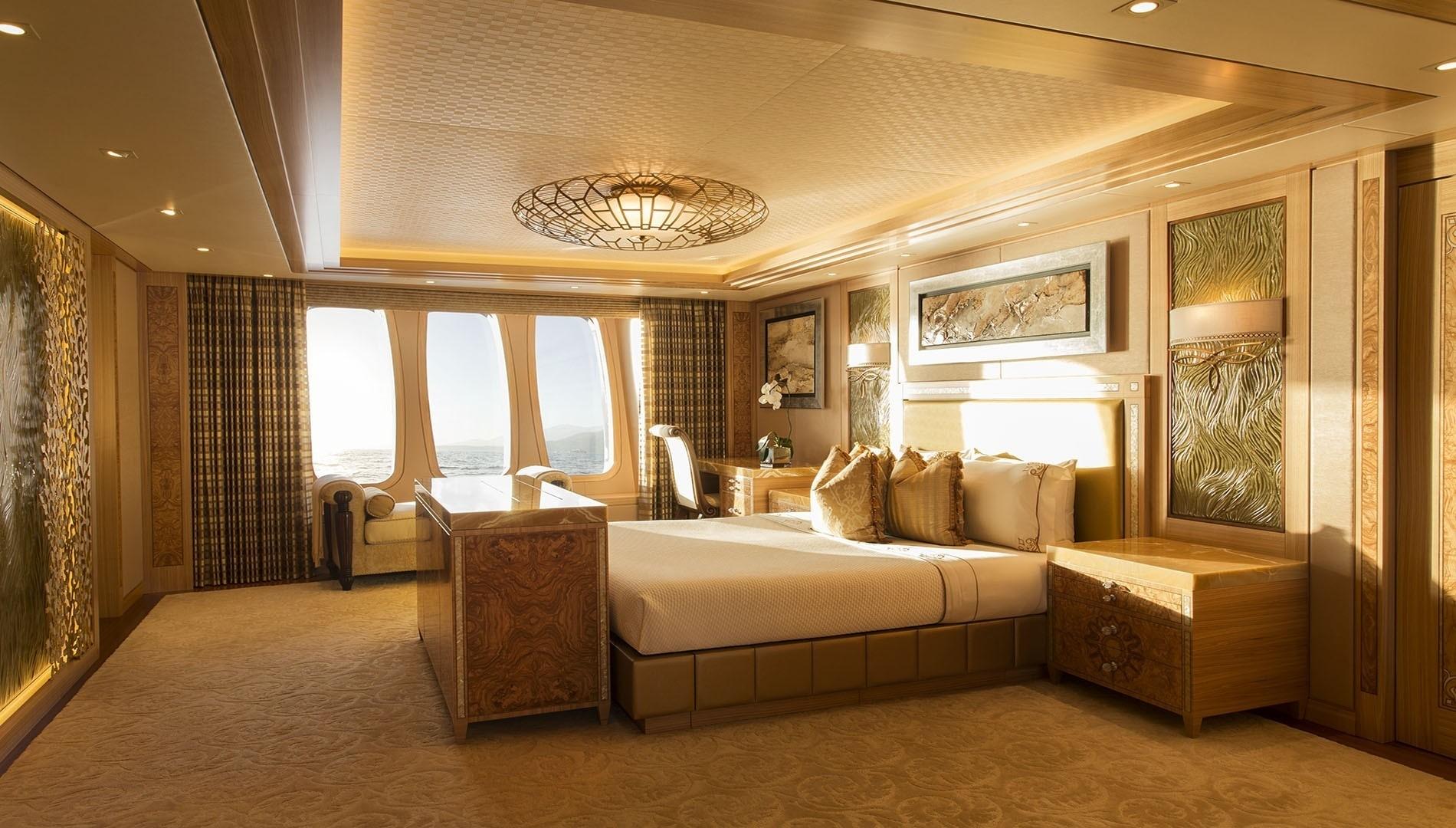 Double Sized Suite Aboard Yacht SOLANDGE