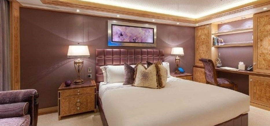 Double Sized Guest's Stateroom Premier Deck On Yacht SOLANDGE