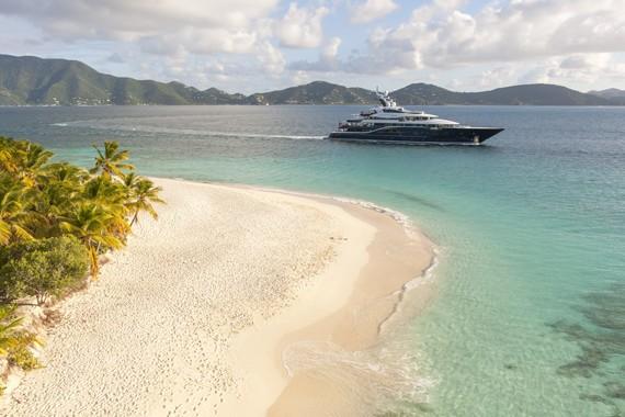 The 85m Yacht SOLANDGE