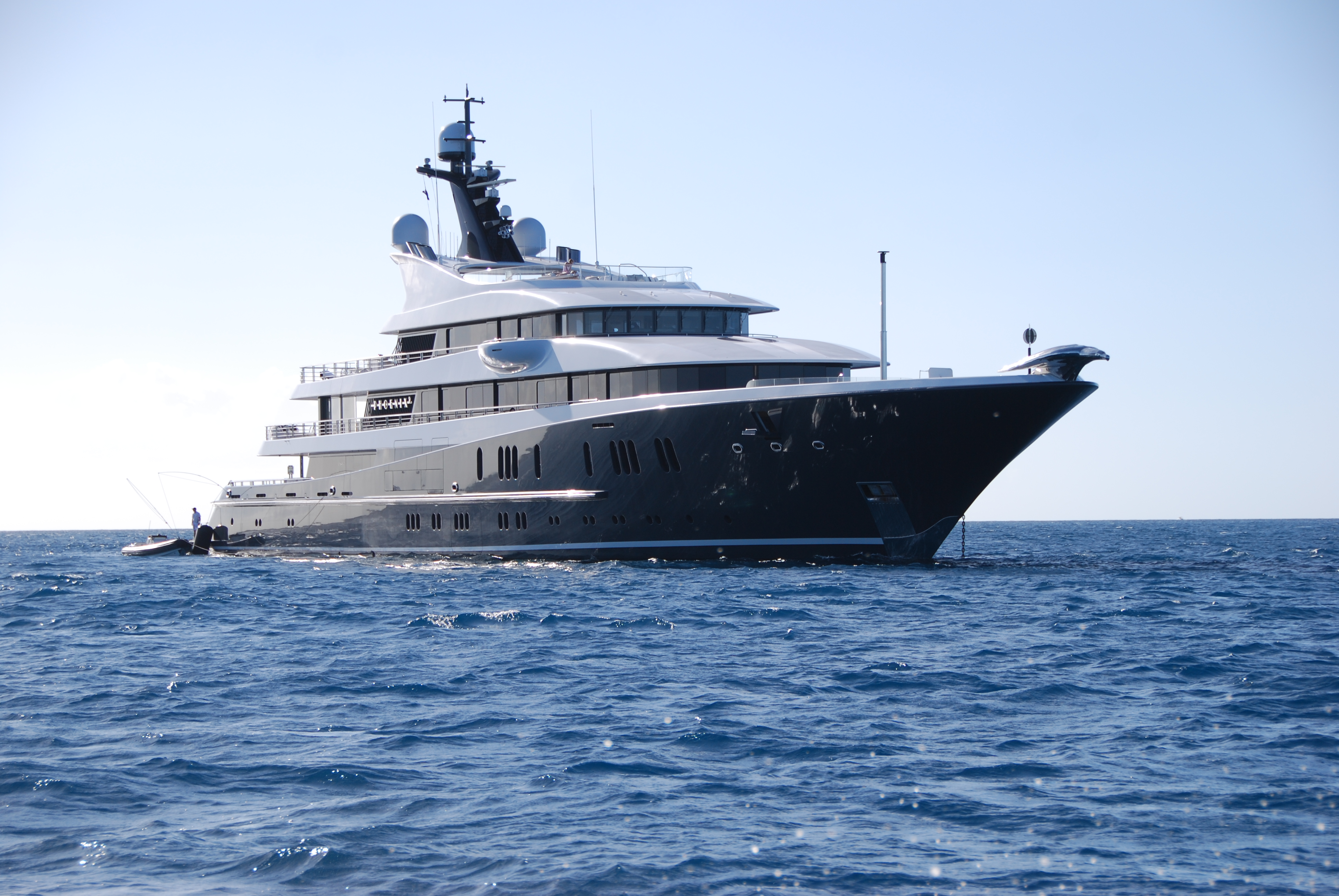 Phoenix 2 cruising in the Caribbean