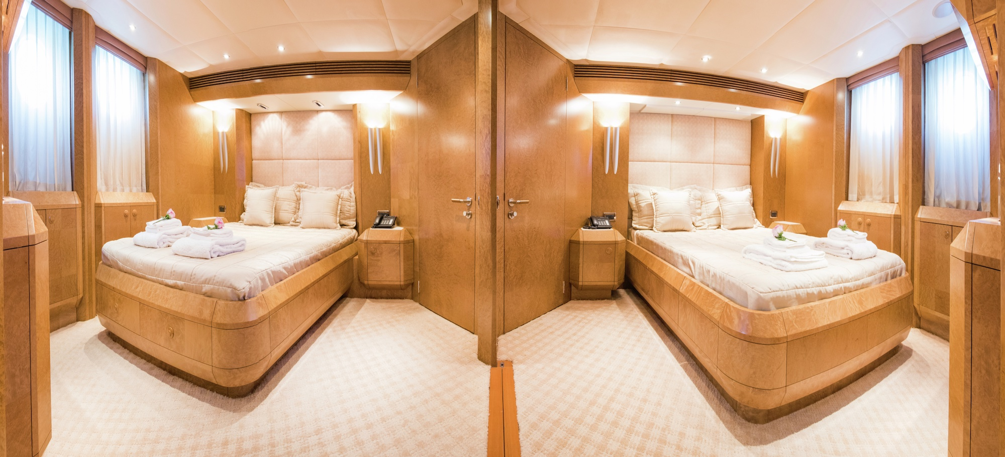 Double Guest Cabins