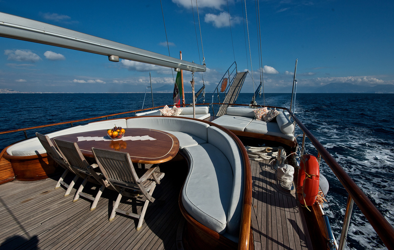 Aft Deck And Sunpads