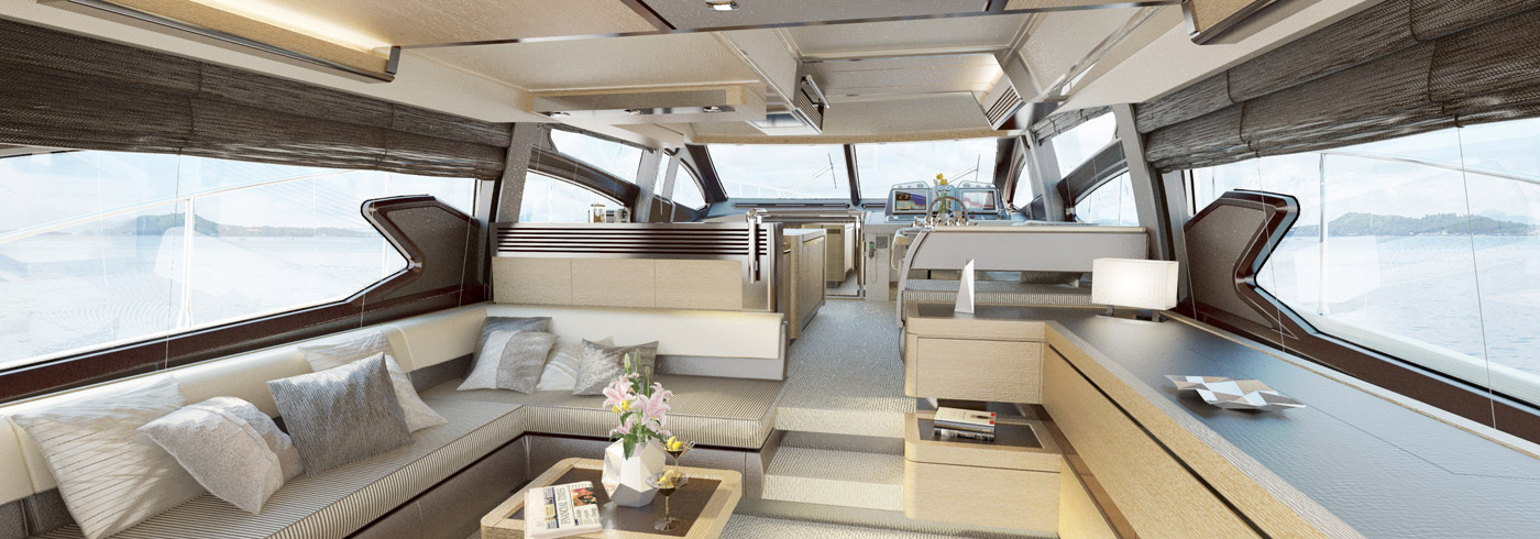 Yacht Azimut 64 Flybridge, Azimut | CHARTERWORLD Luxury Superyacht ...