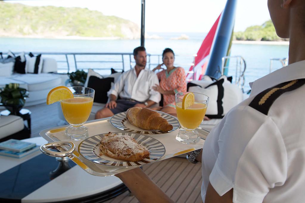 Breakfast In Style On Board