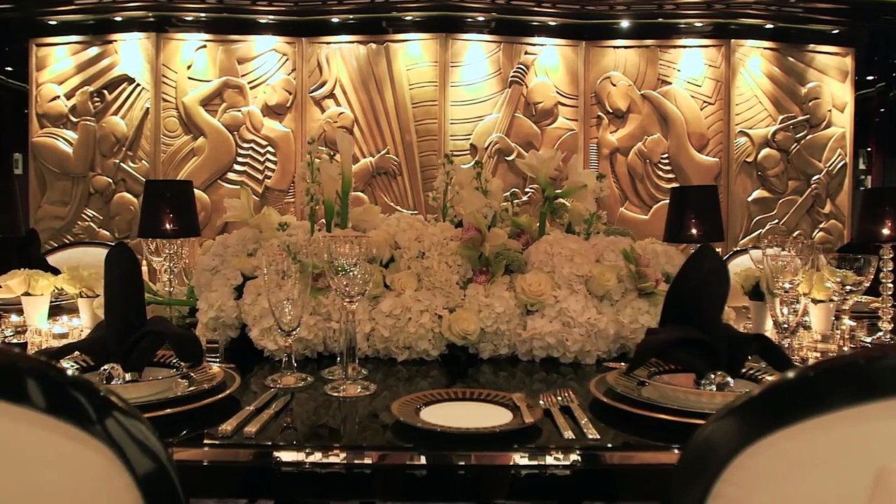 Dining Table Set Up For Formal Dinner