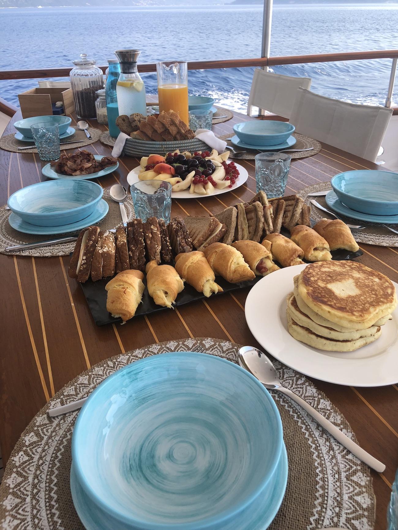 Fabulous Al Fresco Breakfast In The Morning