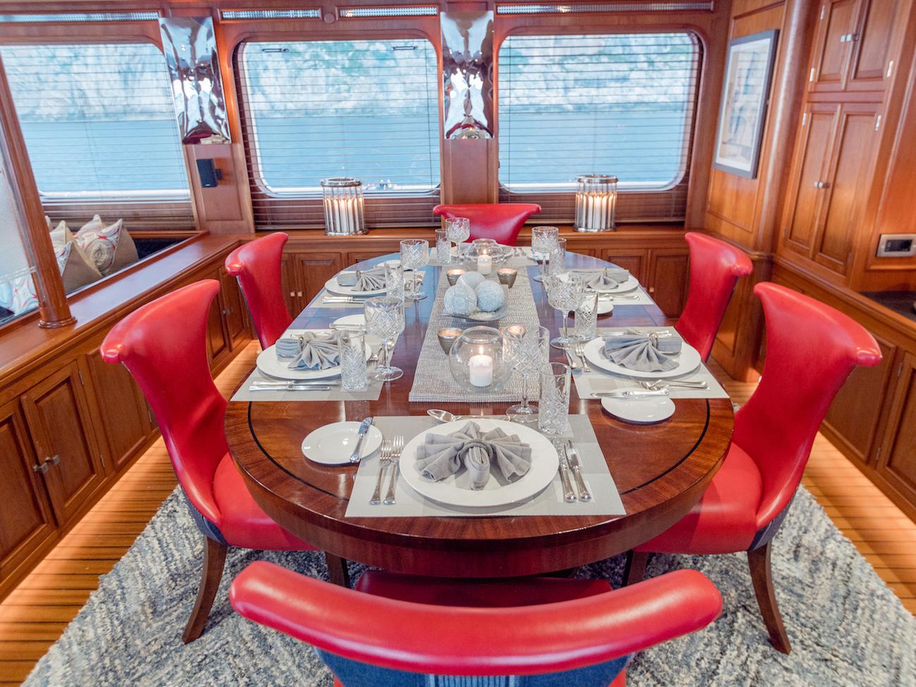 Formal Dining Set Up