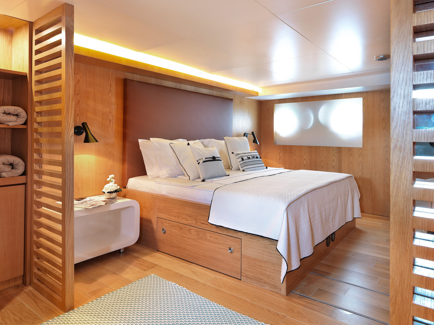 lower deck master suite