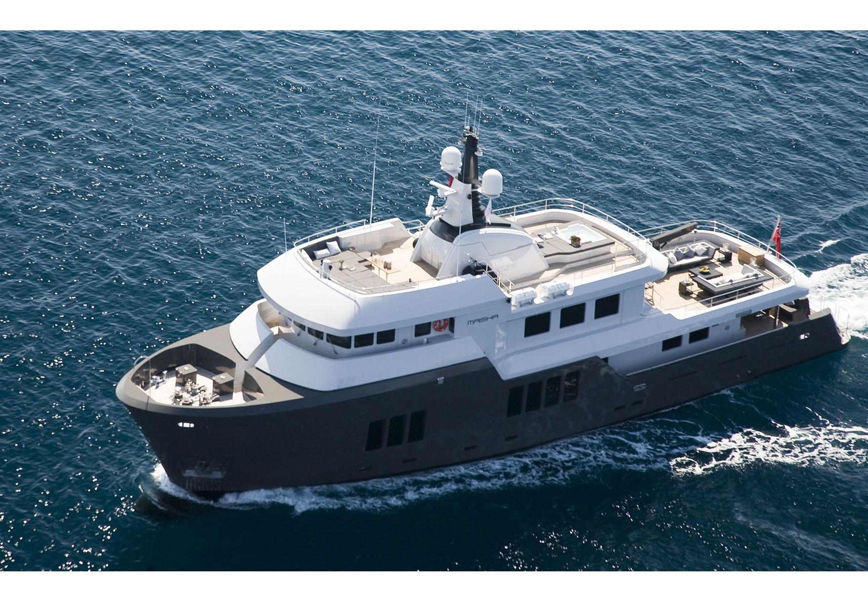 MAISHA - Cobra Expedition Yacht - Profile