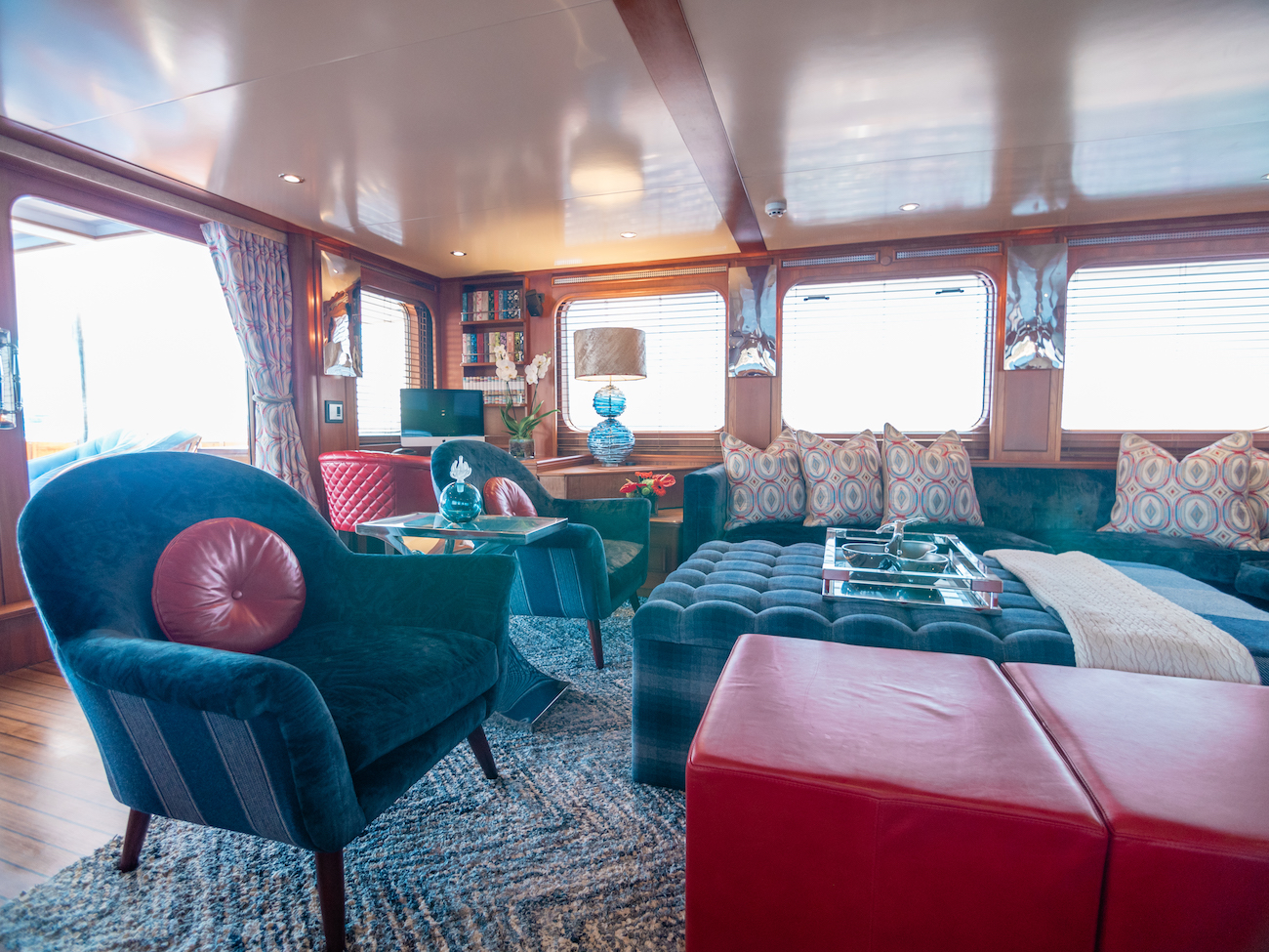 Main Deck Saloon Detail